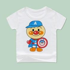 Cotton and polyester blend materials make the fabric comfortable and smooth for kids' sensitive skin. Machine wash recommended with cold water, hang dry, do not bleach. Cute Outfits For Kids, Cute Kids, School Must Haves, Cute White Tops, New Years Sales, Summer Boy, Sensitive Skin, Boy Or Girl, This Or That Questions