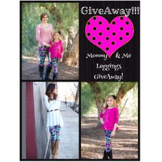 Mommy And Me GiveAway! Matching Leggings GiveAway!