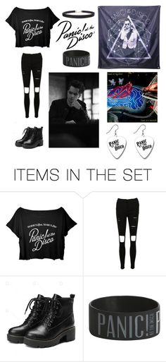 """""""A Panic At The Disco FanGirl"""" by ssheppbunny ❤ liked on Polyvore featuring art"""