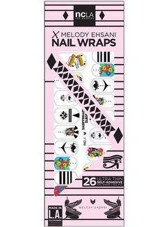Caddyshack Cleopatra - Fun, cute, and quirky accent nail wraps to match your personality by designer Melody Ehsani