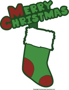 http://www.homemade-preschool.com/Merry-Christmas-Clipart.html