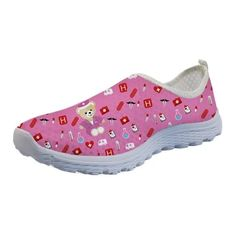 Stylish and comfy cute pink nursing shoes, that can withstand long hours of duty. These comfy shoes are made from premium quality material and best for everyday wear. The lovely designs of our custom printed shoes will brighten your day. Loafers For Women, Ladies Loafers, Shoes Women, Walking, Pink Summer, Summer Beach, Nursing Shoes, Pink Flats, Beach Shoes