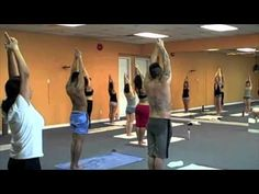 If you have wondered what goes on at a Bikram's class or if you just love it like I do....here is part one  Bikram yoga standing series video