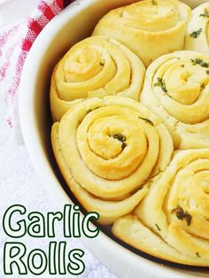 Pillow Soft Pull-Apart Buttery Garlic Rolls.....in just 2 hours!!! ...easy step by step pictures