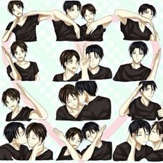 Levi & Eren | Shingeki no Kyojin / Attack on Titan yaoi