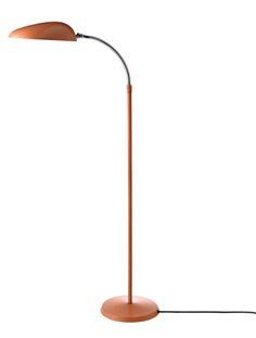 Luminária de piso Cobra, Vintage Red