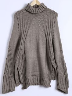 $13.14 Loose Slit High-Low Sweater
