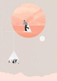ARTE: Gli universi paralleli di Natalie Nicklin in forma di collage - Osso Magazine