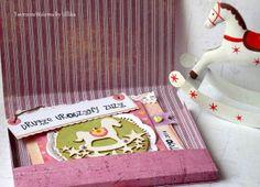 Karteczka urodzinowa w pudełeczku
