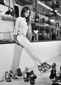 Michelle Jenner posa con ropa de la firma Liu Jo.
