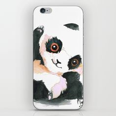 Skins are thin, easy-to-remove, vinyl decals for customizing your device. Skins are made from a patented material that eliminates air bubbles and wrinkles for easy application. Cute Panda, Iphone Skins, Vinyl Decals, Bubbles, My Arts, Store, Cover, Easy, Design
