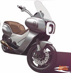 Nirmay Scooter Design, Motorbike Design, Honda V, Bike Sketch, Bmw Concept, Concept Motorcycles, Scooter Bike, Car Wheels, Transportation Design