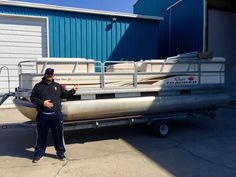 Congrats on the new #pontoon #boat Don - see you out on the #water !