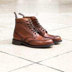 Church's boots are juste perfect to go with any smart outfit.