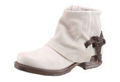 #A.S.98 #Damen #Bikerboots #weiß - Boots, A.S.98, aus Leder. Besondere…