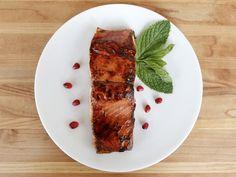 Pomegranate Glazed Salmon ~ The Shiksa in the Kitchen