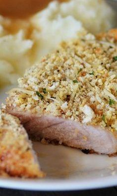 Baked Parmesan Pork Chops