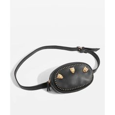 Topshop Panther Belt Bag ($30) ❤ liked on Polyvore featuring bags, handbags, retro bag, hip fanny pack, waist pack bag, pu handbags and belt bag