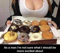 Chocolate donuts!