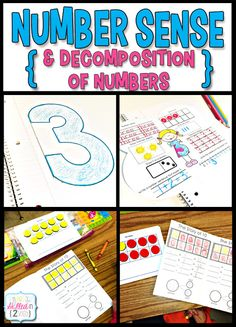 Number Sense and Decomposition of Numbers!