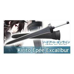 Sword Art Online Epée Kirito Excalibur Sabre