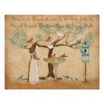 Best Friend BFF animal lover woman birds feeder Poster #weddinginspiration #wedding #weddinginvitions #weddingideas #bride