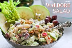 Paleo Waldorf Salad #justeatrealfood #theprimaldesire