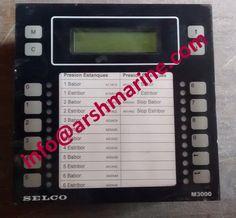 SELCO M3000 Series - Analogue Alarm Monitor www.arshmarine.com