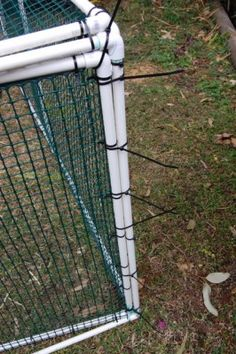Step-by-step pvc chicken tractor