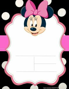 Mickey Mouse Birthday Cake, Minnie Mouse Birthday Invitations, Mickey Minnie Mouse, Birthday Party Design, Birthday Party Decorations, Photo Frames For Kids, 1st Birthday Invitation Template, Doodle Frames, Mickey Mouse Wallpaper