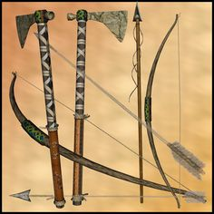 Native Indian Weapons and Tools.Vast Libray of info on Native ...