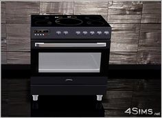 Electric range cooker for Sims 3 - 4Sims