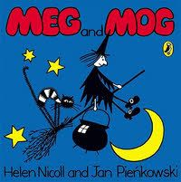 Meg and Mog, a great book from my childhood.