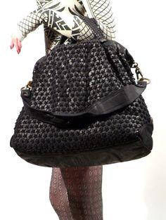 New RL22 Errelleventidue Embellished Washed Leather Midnight Blue Tote  Handbag 2e0835793ee