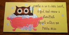 scriptures with cute pictures   Words That I Love / cute bathroom scripture art :)
