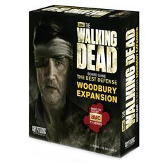 Cryptozoic The Walking Dead Board Game The Best Defense Woodbury Expansion Game (815442017567) The Woodbury Expansion to the best-selling The Walking Dead Board Game: The Best Defense brings a whole new challenge to an already desperate group of Survivors. The Survivors may now visit the Woodbury Location and take their chances with the Resource Deck there, but must also avoid The Governor or he ll gun down anything in his path! The Woodbury Expansion now allows up to five players to play at…