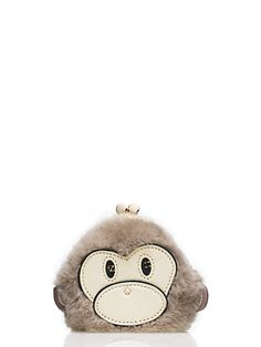 caution to the wind monkey coin purse