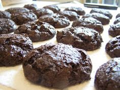 Chocolate Cake Mix Cookies that are bake sale worthy! I made mine with Devils Fo… Chocolate Cake Mix Cookies that are bake sale worthy! I made mine with Devils Food Cake Mix and lots of pecans. The kids loved them. Cake Mix Desserts, Cake Mix Cookie Recipes, Just Desserts, Delicious Desserts, Cake Recipes, Dessert Recipes, Devils Food Cake Cookie Recipe, Cookie Ideas, Yummy Food