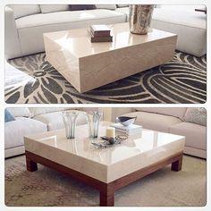 El mármol es siempre elegante y fino. Tu mesa de centro, puede lucir así. Con base o sin base, se verá increíble. Conoce nuestro catálogo, tenemos muchos diseños para ti. Te esperamos. #mesa #marmol #mesadecentro #muebles #furniture #diseño #sofasysillones #estilo #style #deco #homedecor #interiorismo #interiordesign #instahome #somosfabricantes #tusideas #AGNESICASA