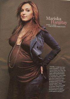Love this pic of Mariska pregnant with August.