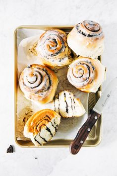 cookies and cream morning buns | hummingbird high || a desserts and baking blog