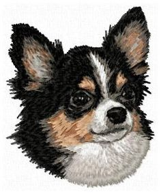 Stock of embroidery designs Chihuahua Puppies, Color Blending, Cat Breeds, Dog Mom, Pet Portraits, Animals And Pets, Machine Embroidery, Cat Lovers