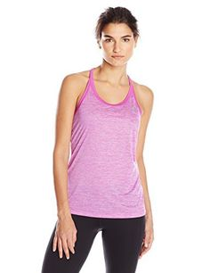 adidas Performance Women's Hi 5 Tank Top, Flash Pink S15/Colored Heather/Flash Pink S15, Small - http://www.exercisejoy.com/adidas-performance-womens-hi-5-tank-top-flash-pink-s15colored-heatherflash-pink-s15-small/athletic-clothing/
