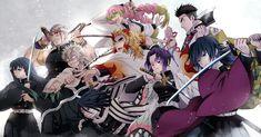 HD wallpaper: anime, Kimetsu no Yaiba, Kyojuro Rengoku, Himejima Gyomei, Giyu Tomioka (Kimetsu no Yaiba) Manga Anime, Anime Demon, All Anime, Anime Art, Demon Slayer, Slayer Anime, Estilo Anime, Wallpaper Pc, Animes Wallpapers