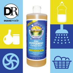 Dr Woods Peppermint Castile Soap Available at Duane Reade