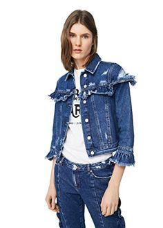 #OrganicCotton Special Deals, Mango, Organic Cotton, Denim, Jackets, Blue, Women, Fashion, Manga