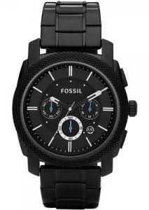 10 schwarze Fossiluhren, die dich umhauen! #fossil #uhren #schwarzeuhren -