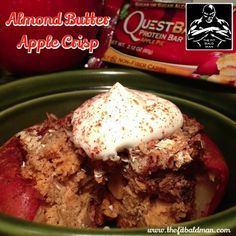 Quest Bar Almond Butter Apple Crisp