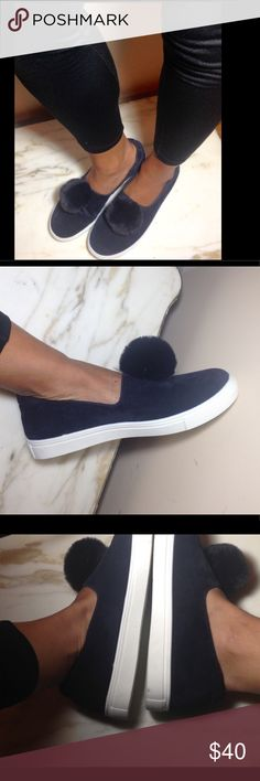 Yoki Navy Blue Women's Loafers | Size 10 Never worn. They are very trendy now a must have for this summer! Yoki Shoes Sneakers