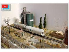 Maqueta española. HO - HOm. Épc. IV - VI. Ferrocarriles de la Península Ibérica.: Dioramas